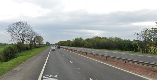 M8: A person has died after being hit by a car on a major Scottish motorway in West Lothian