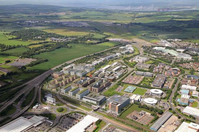 A CGI of Edinburgh Park's southern phase. Image: Assembly Studios