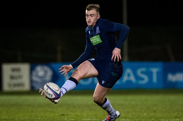 Nathan Chamberlain scored a hat-trick for Scotland U20 against Wales last year. Picture: Ross Parker/SNS