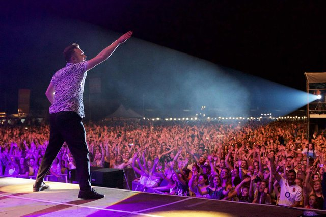 Olly Murs was due to appear at Edinburgh Castle in July, before the planned run of the Tattoo.
