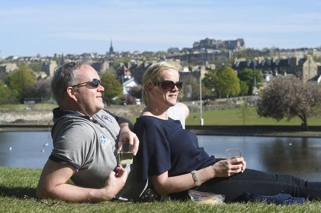 Weekend weather forecast for Edinburgh (Photo: Greg Macvean).