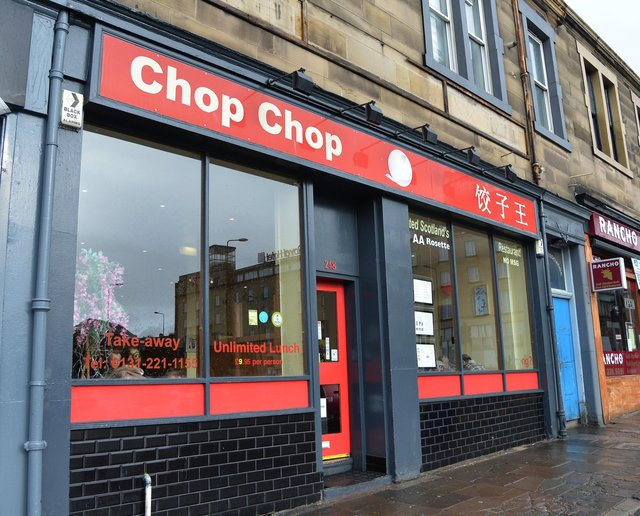 Chinese restaurant Chop Chop in Haymarket has been forced to close. Pic: Jon Savage