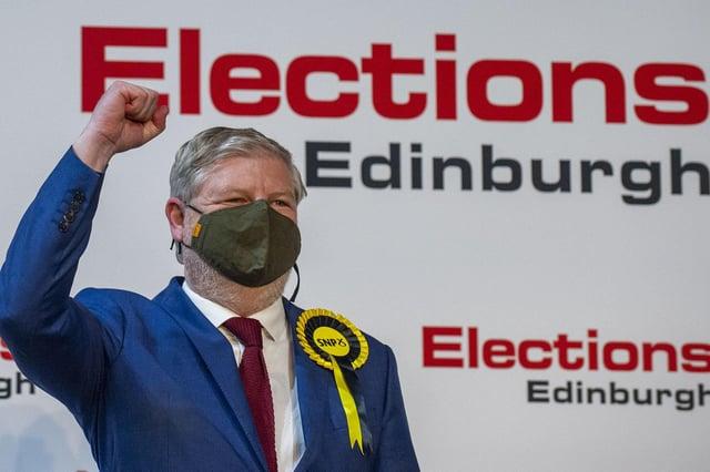 Angus Robertson won Edinburgh Central for the SNP