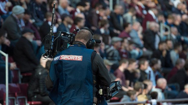 Hearts v Hibs has been moved for television. Picture: SNS