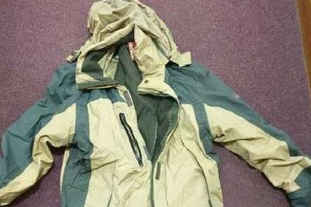 Police released an image of the jacket recovered from the Forth Road Bridge