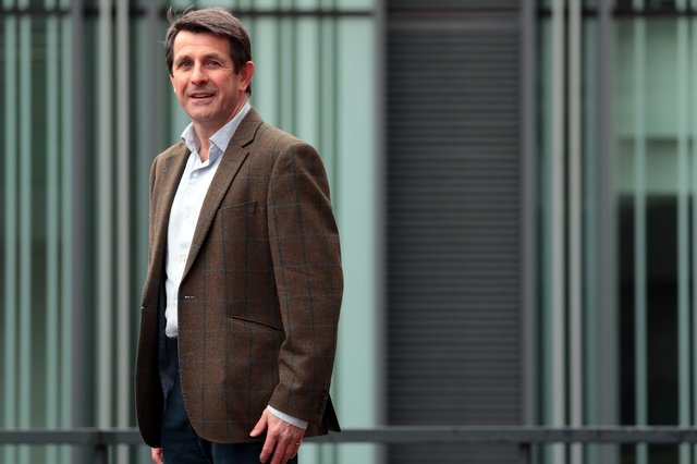 Graeme Hartop is the chief executive of Edinburgh and London-based private bank Hampden & Co. Picture: Stewart Attwood