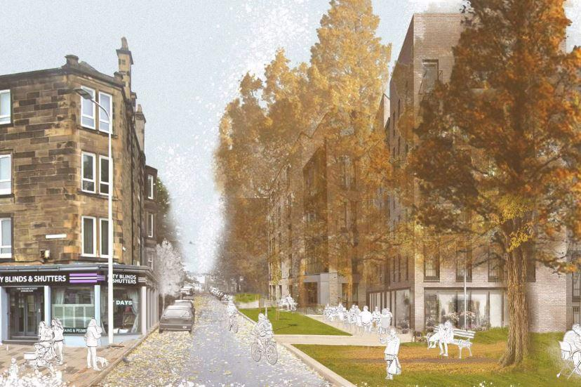 Almost 600 new homes in Edinburgh's Meadowbank development could be fitted with 'gardens in the sky'