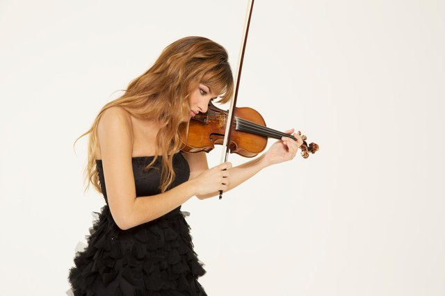 Violin sensation Nicola Benedetti is one of the main attractions in this year's Edinburgh International Festival. Picture: Simon Fowler
