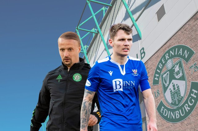 Hibs supporters would like to see Leigh Griffiths and Jason Kerr brought in to the club this summer