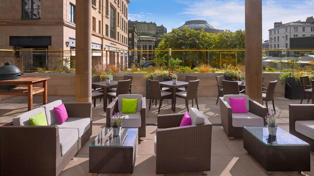 The One Square Terrace will be open daily from 12pm – 10pm from 26 April and tables should be reserved in advance.