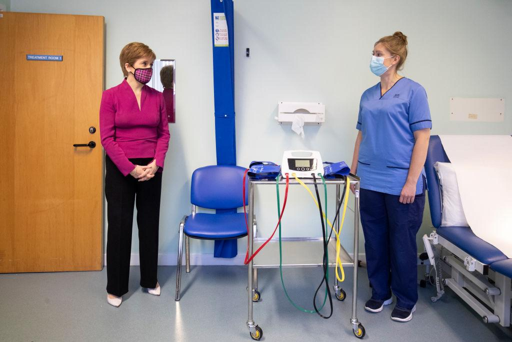 Nicola Sturgeon says she will take Covid-19 vaccine on live TV to convince people it is safe