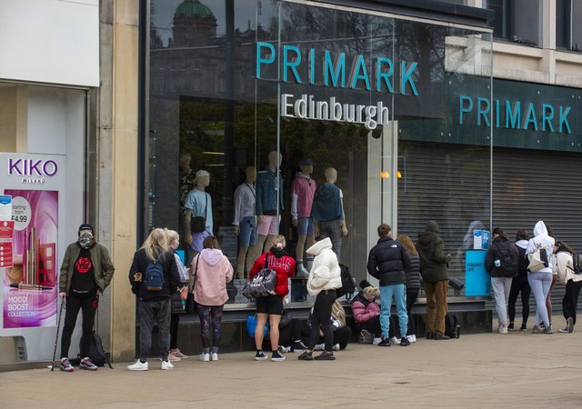 Today marks the day that shoppers have been able to return to the high street once again after months of lockdown picture: Lisa Ferguson/JPI Media