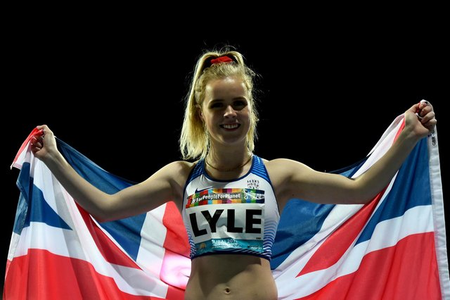 Maria Lyle will compete T35 100 and 200 metres in Tokyo