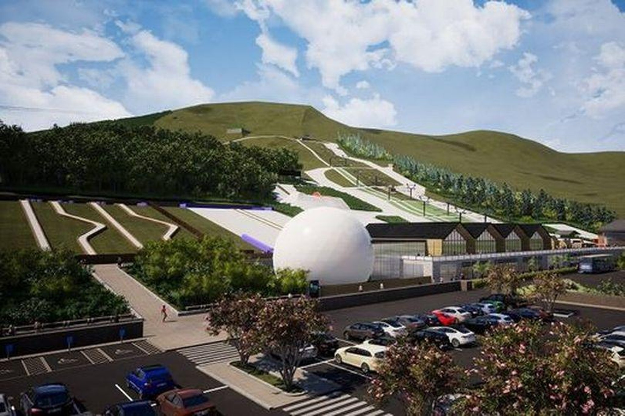 Green light given for £13.8 million Hillend Destination winter sport centre