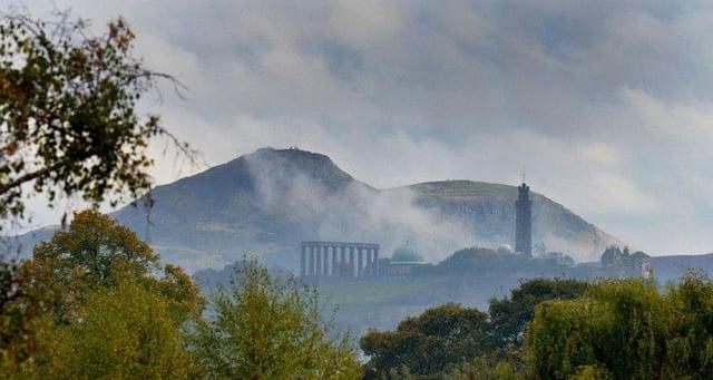 Stunning - Arthur's Seat on an foggy morning