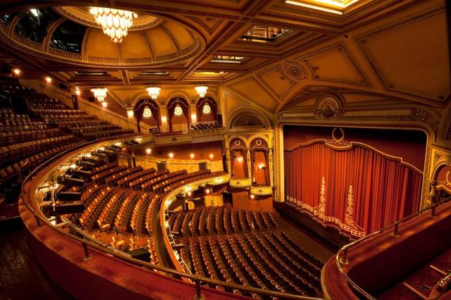 The Festival Theatre in Edinburgh has a normal capacity of 1915.