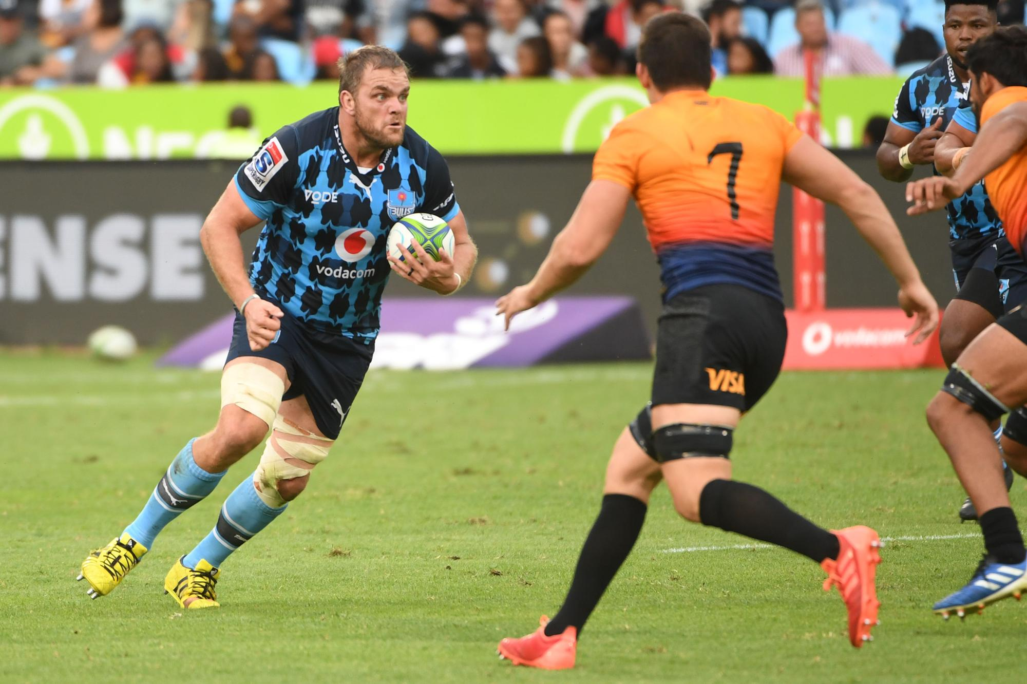 Edinburgh Rugby sign South African lock Andries Ferreira
