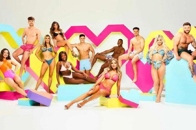 Love Island cast