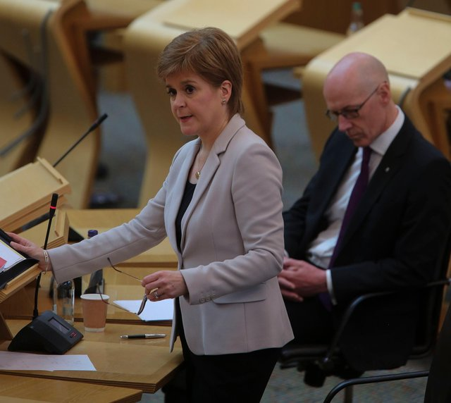 First Minister Nicola Sturgeon has announced new restrictions in Scotland