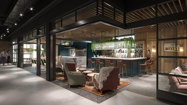 Bonnie & Wild is due to open on June 24 alongside much of the St James Quarter. The Edinburgh site is one of Scotland's largest food and drink venues and will contain 15 bars, food stalls and speciality retailers, with open-plan seating for about 400 people.