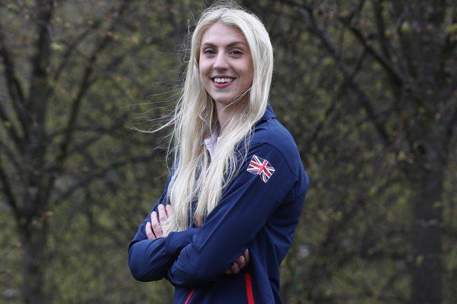 Cassie Wild says being selected for the Team GB swimming team for the Tokyo Olympics doesn't feel real. Picture: Ian MacNicol/Getty Images for British Olympic Association