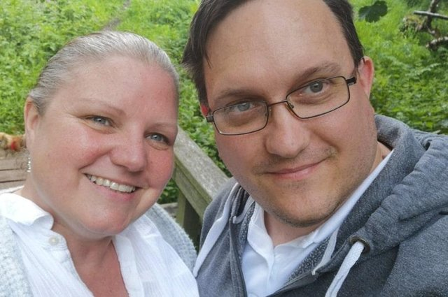 Sharron and her husband Neil Fraser enjoying a holiday before lockdown (Photo: Sharron Fraser)