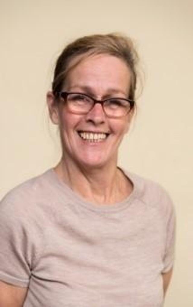 Irene McCarthy, new carer support and development officer as the Eric Liddell Centre in Edinburgh.