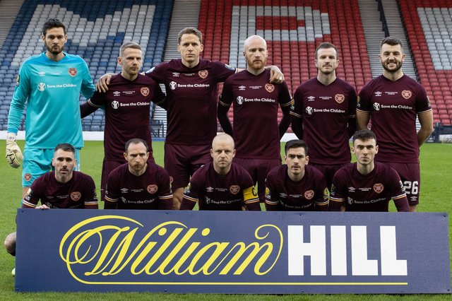 Just two Hearts players were named in the SPFL Championship team of the season