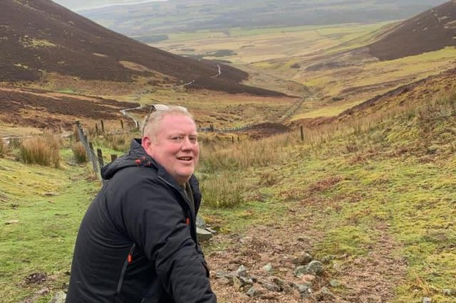 Tom is climbing the Pentland Hills 16 times, equivalent to the height of Everest