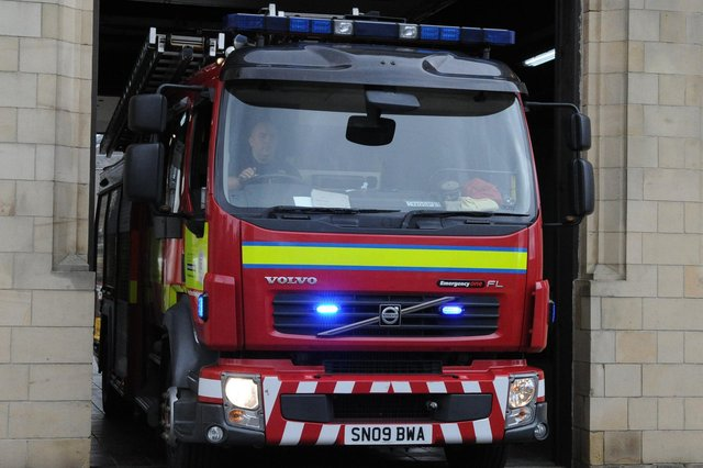 Seven appliances were initially called out to the fire.