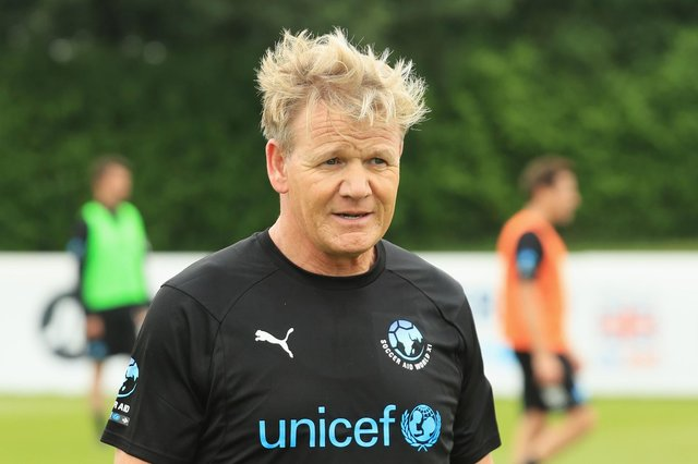 Celebrity chef Gordon Ramsay has again referred to Falkirk in a viral video. Picture: Andrew Redington/Getty Images.