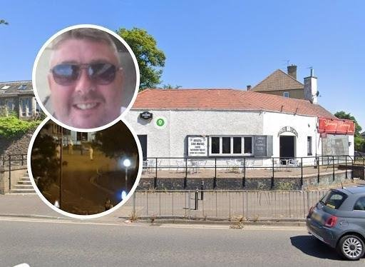 Victim: Andy McCarron whose murder close to Edinburgh City Social Club was captured in harrowing CCTV images