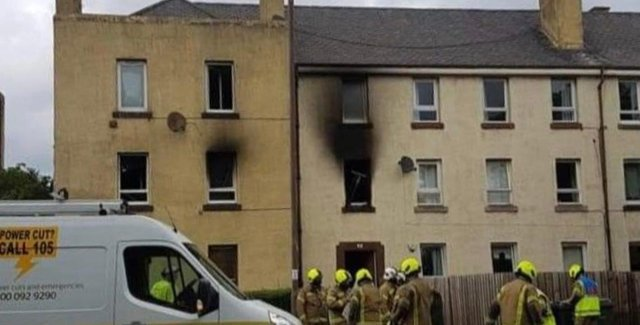 The blaze at the flat on Craigentinny Road led to the deaths of family pets and injuries as children jumped from windows to escape the fire.