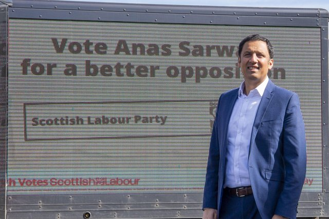Scottish Labour leader Anas Sarwar has put forward exciting proposals during the election campaign, says Ian Murray (Picture: Lisa Ferguson)