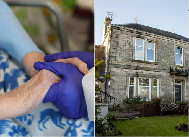 Thornlea Nursing Home in Loanhead was hit with a Covid outbreak.