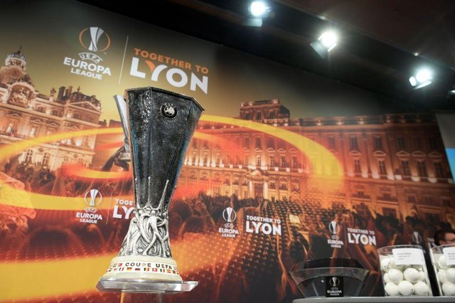 The Europa League trophy. Picture: Getty