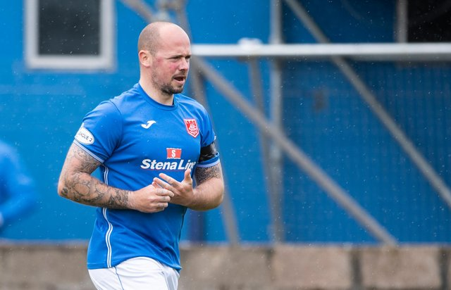 Ex-Hearts player Jamie Hamill is the new Stranraer boss. Picture: SNS