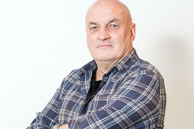 Steve Cardownie will vote Alba on the list   Pic: Ian Georgeson
