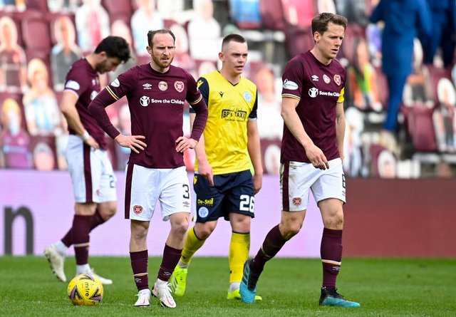 Morale is low at Hearts right now.