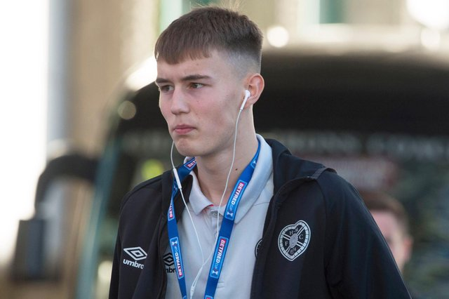 Harry Cochrane is leaving Hearts for pastures new.