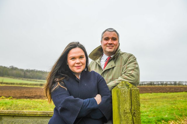 Patrick Paton and his wife Celia have launched Paton & Co from their home in the Borders. Picture: Bill Knight.