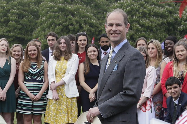 Prince Edward will eventually inherit the title