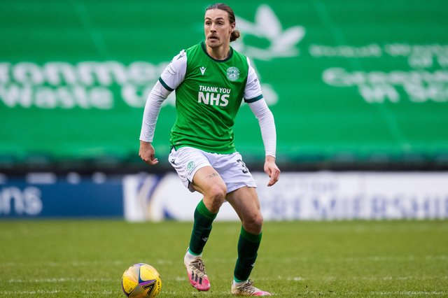 Jackson Irvine has impressed since signing for Hibs in January. Picture: SNS