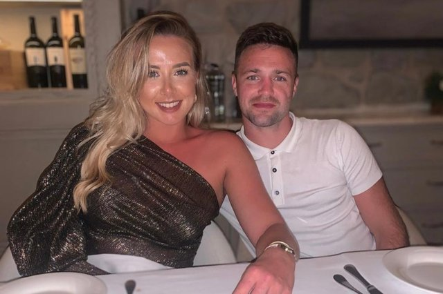 Danielle Murphy and Josh Taylor have been together for 11 years.