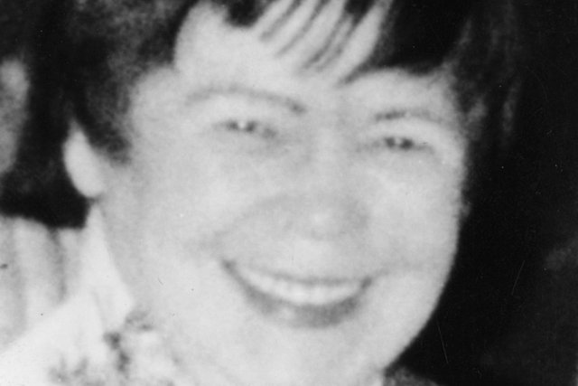 Police handout of Mary McLaughlin, as a man has been charged in connection with her death in Glasgow 35 years ago.