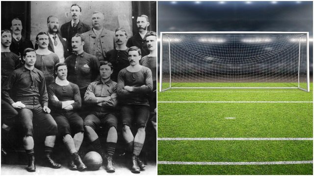 The Scottish FA Cup winners pose for a photograph in 1888 (Getty Images/Shutterstock)