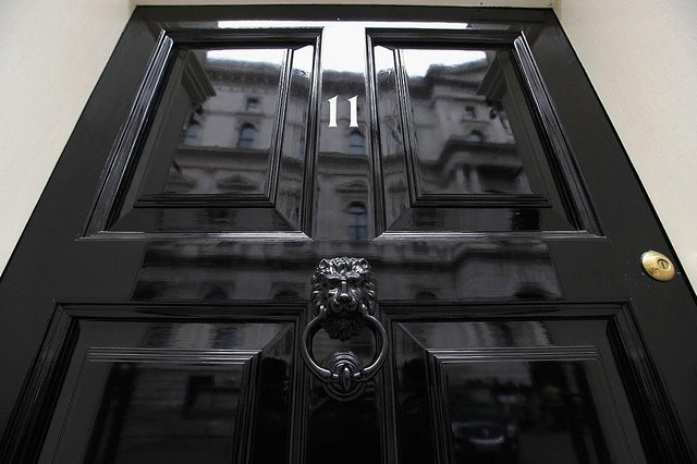 Prime Minister and his partner Carrie Symonds live at 11 Downing Street (Getty Images)