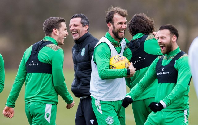 """Hibs have been tipped to be """"well ahead"""" of rivals next season in a """"joust"""" for third. Picture: SNS"""