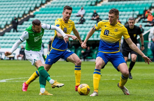 Hibs and St Johnstone will battle it out in the Scottish Cup final this Saturday. Picture: SNS