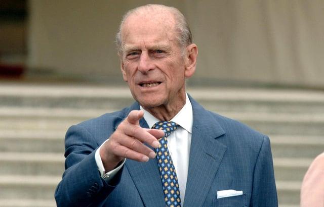 The Duke of Edinburgh.